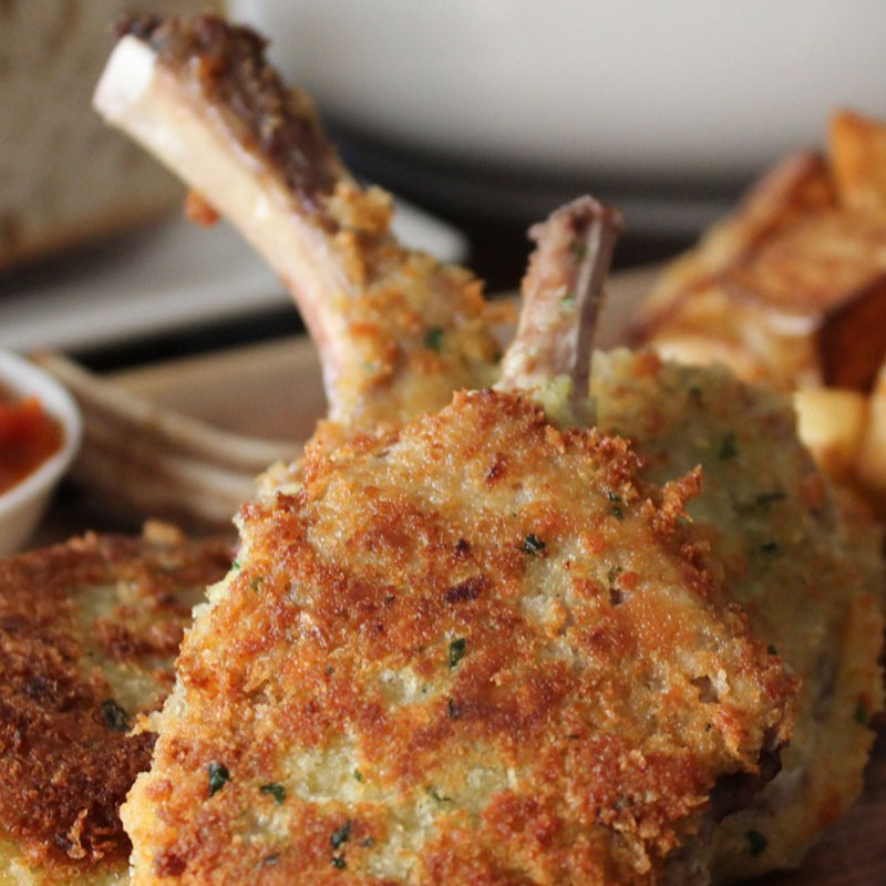 lamb crumbed cutlets chelsea quality meats