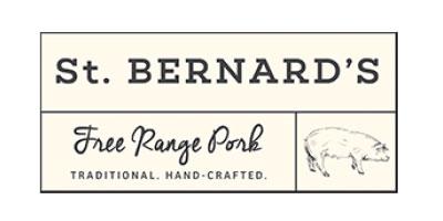 st bernards free range pork