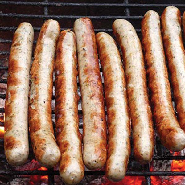 homemade bbq sausages
